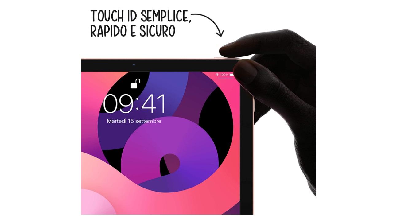 Sistema touch facile e veloce