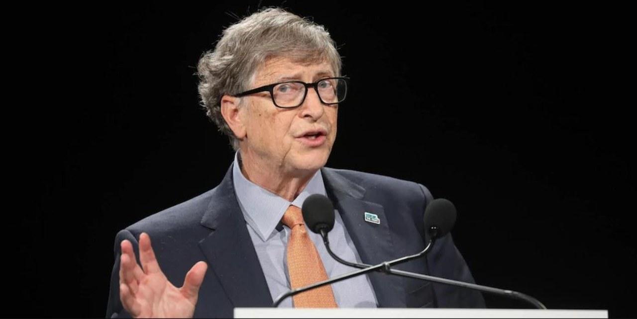 Bill Gates, intervista a Clubhouse (Foto Corriere dello Sport)