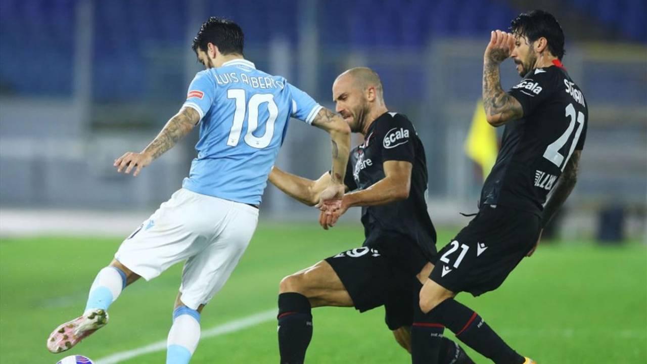 Bologna-Lazio sul digitale terrestre (Foto Eurosport)