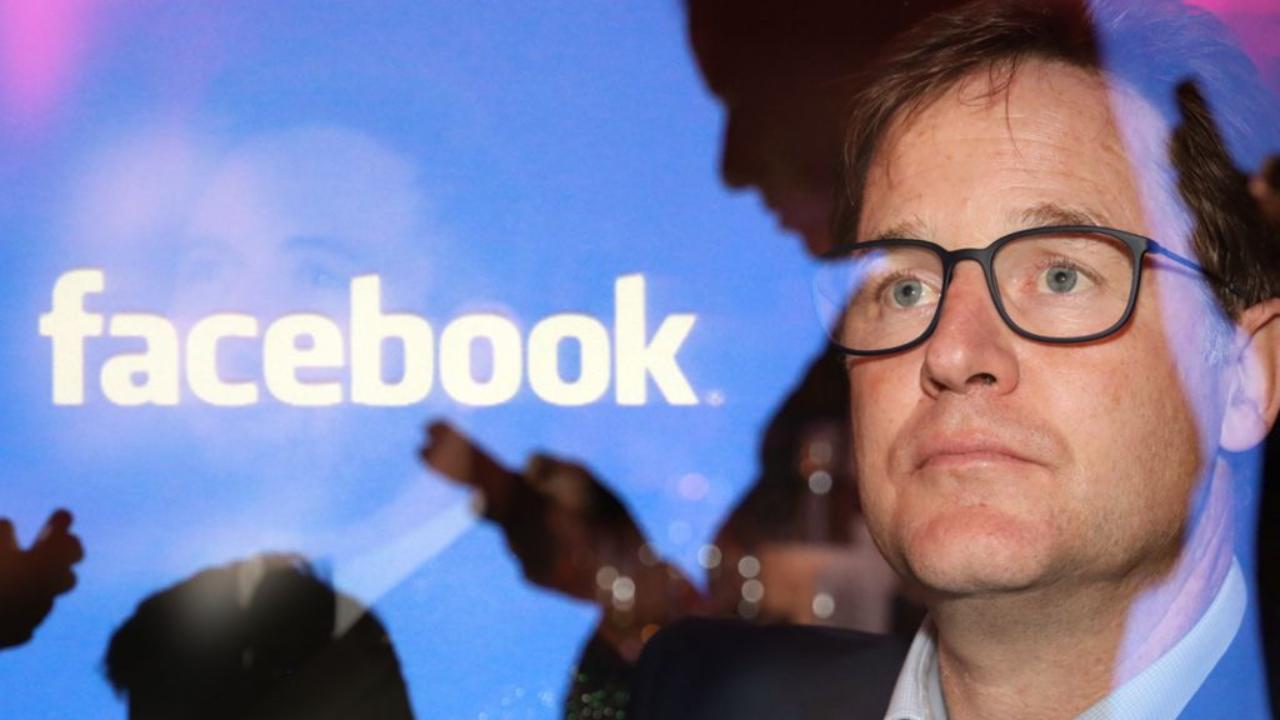 Nick Clegg, manager Facebook (Foto Bbc)