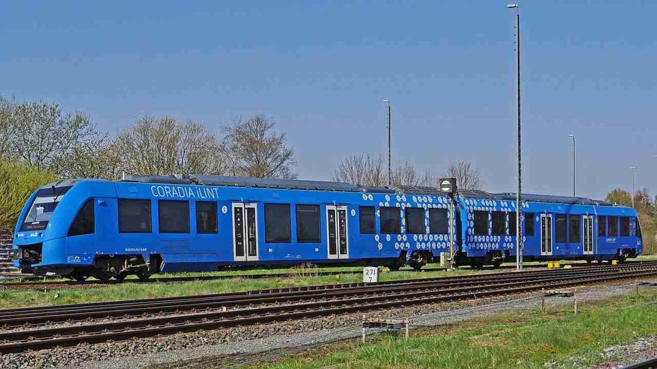 La prima rete ferroviaria a Idrogeno