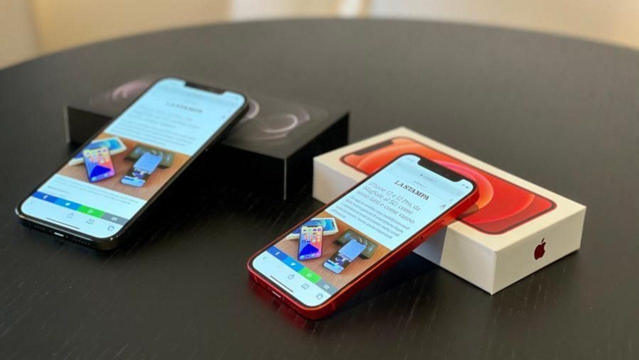 iPhone 12 mini (Foto La Stampa)
