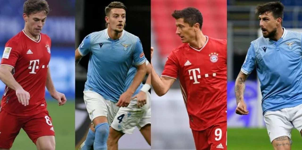Lazio-Bayern Monaco (Foto Corriere dello Sport)