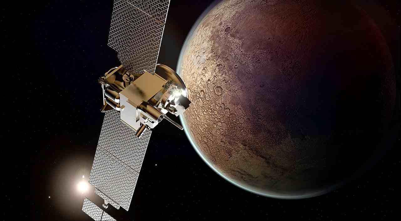 Sonda in missione su Marte