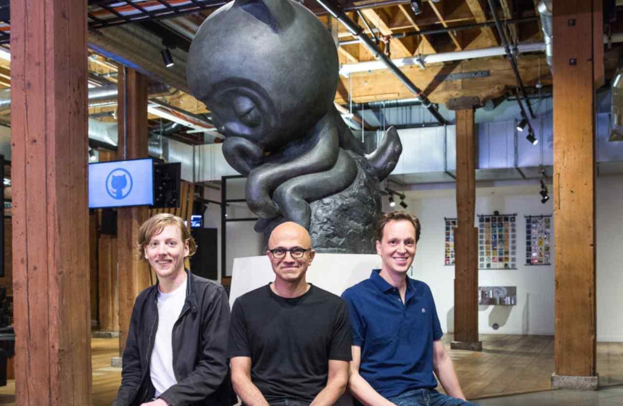 microsoft pinterest Satya Nadella celebra l'acquisto di GitHub