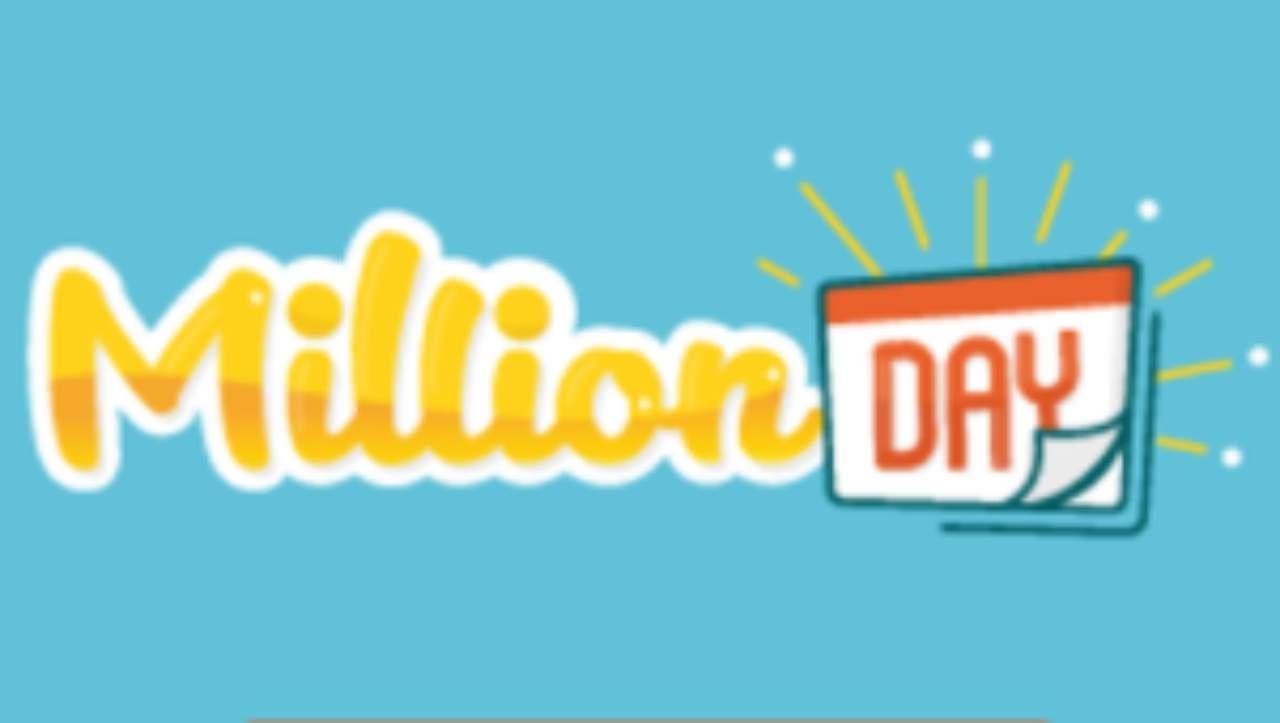Million Day, estrazione oggi