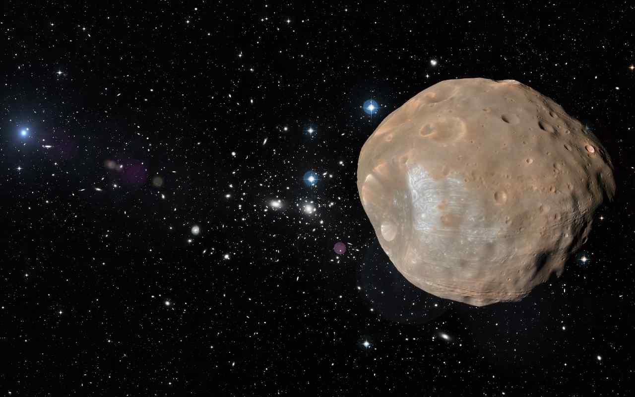 Phobos tracce di ossigeno marziano