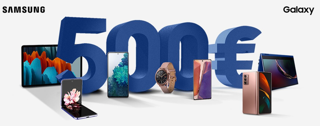 Samsung e la promo cashback (Foto Samsung.com)