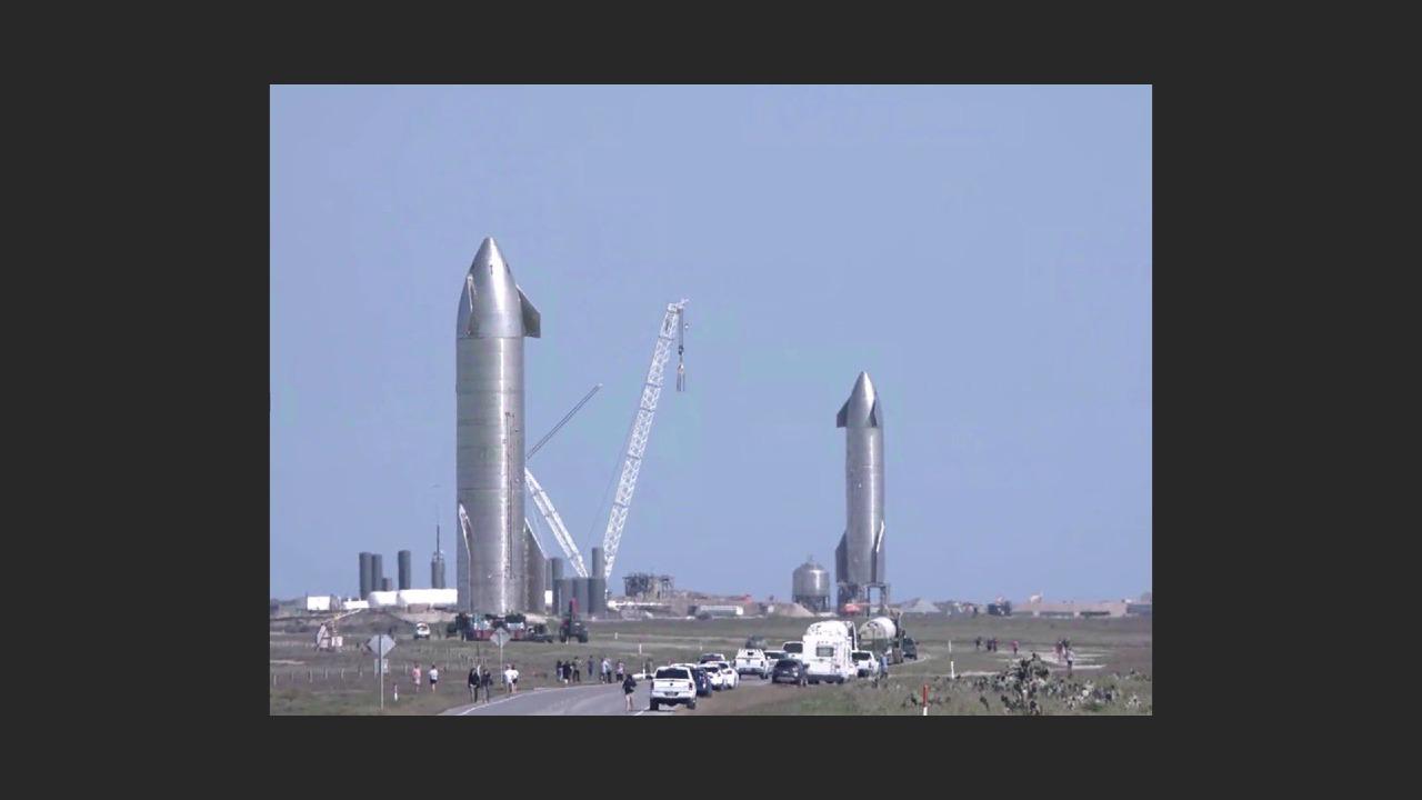 SpaceX sn9 & sn10