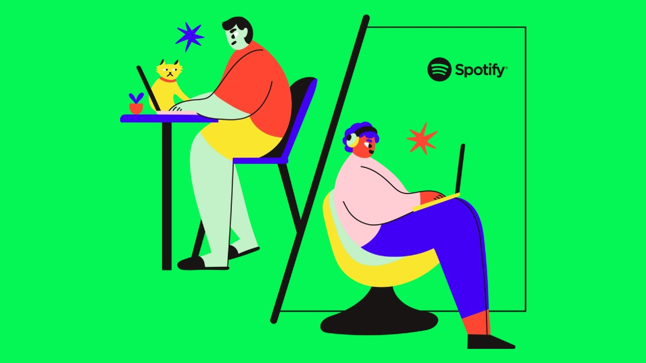 spotify work from anywhere