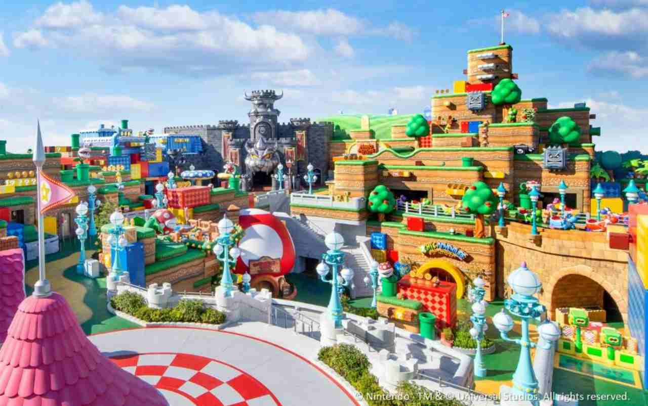 Super Nintendo World (Foto ufficiale Nintendo)
