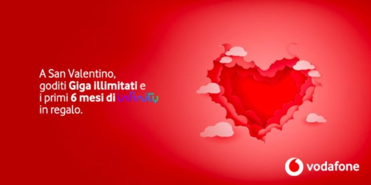 Vodafone e San Valentino (Vodafone.it)
