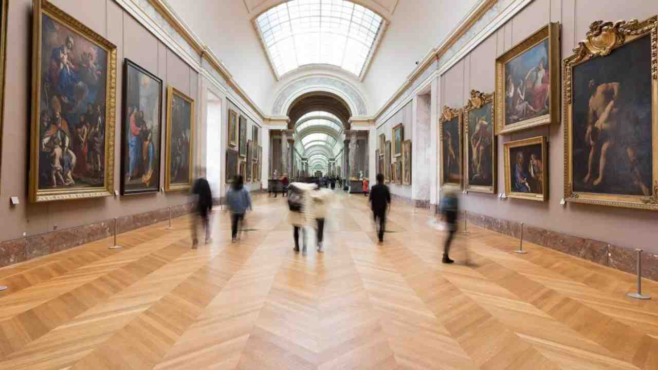 Sale del Louvre