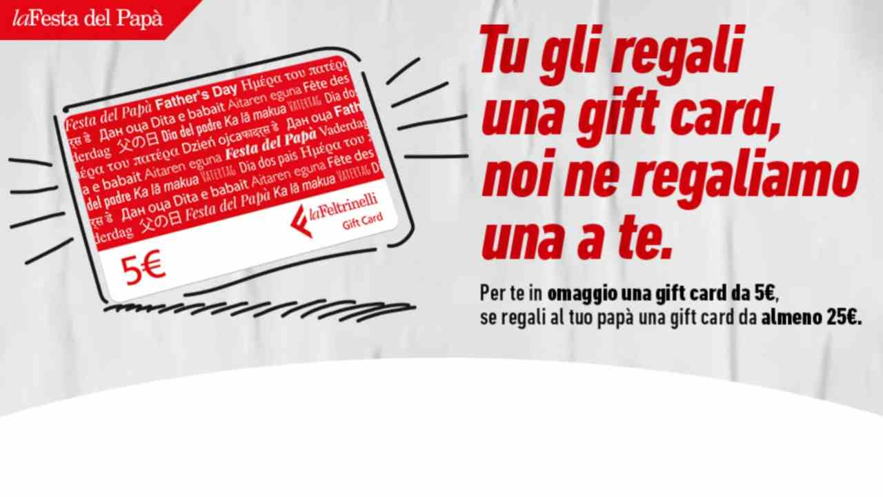 Carta regalo di Feltrinelli
