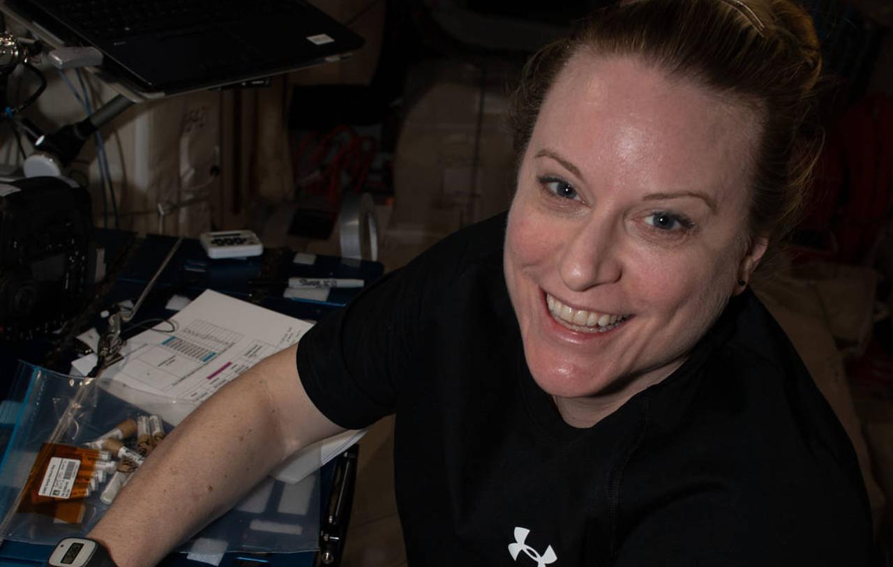 Passeggiata spaziale Kate Rubins