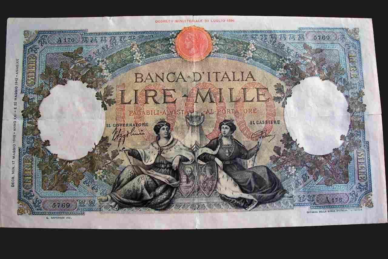 Mille lire (Adobe Stock)