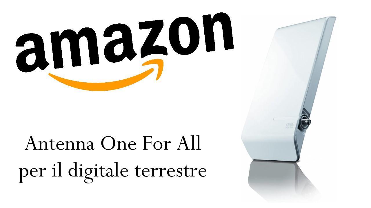 Promozione Amazon antenna
