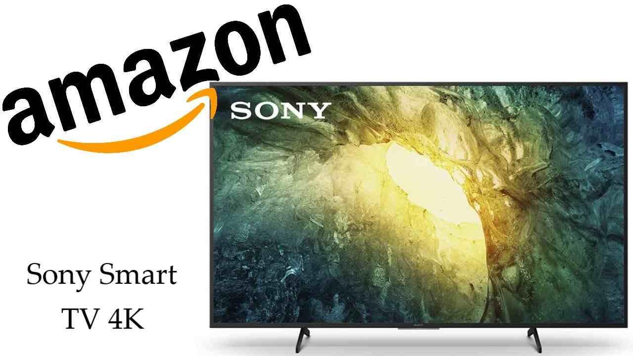 Promozione Amazon TV Sony