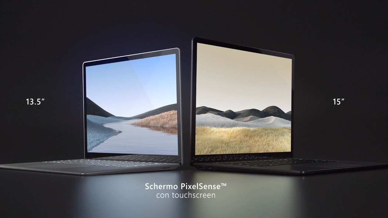 Display con PixelSense