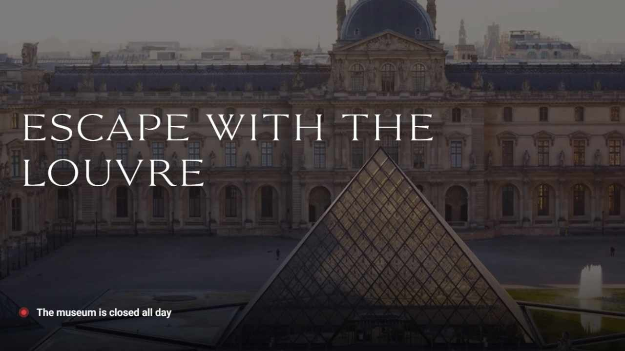 Escape with the Louvre