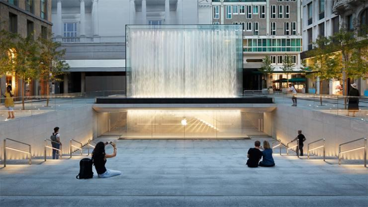Apple, lo store di Milano (Foto Apple.com)