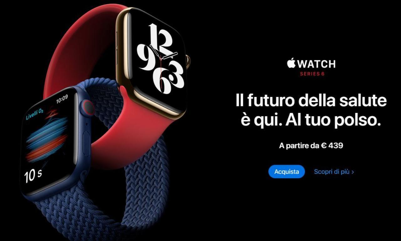 Apple numero uno smartwatch (Foto Apple)
