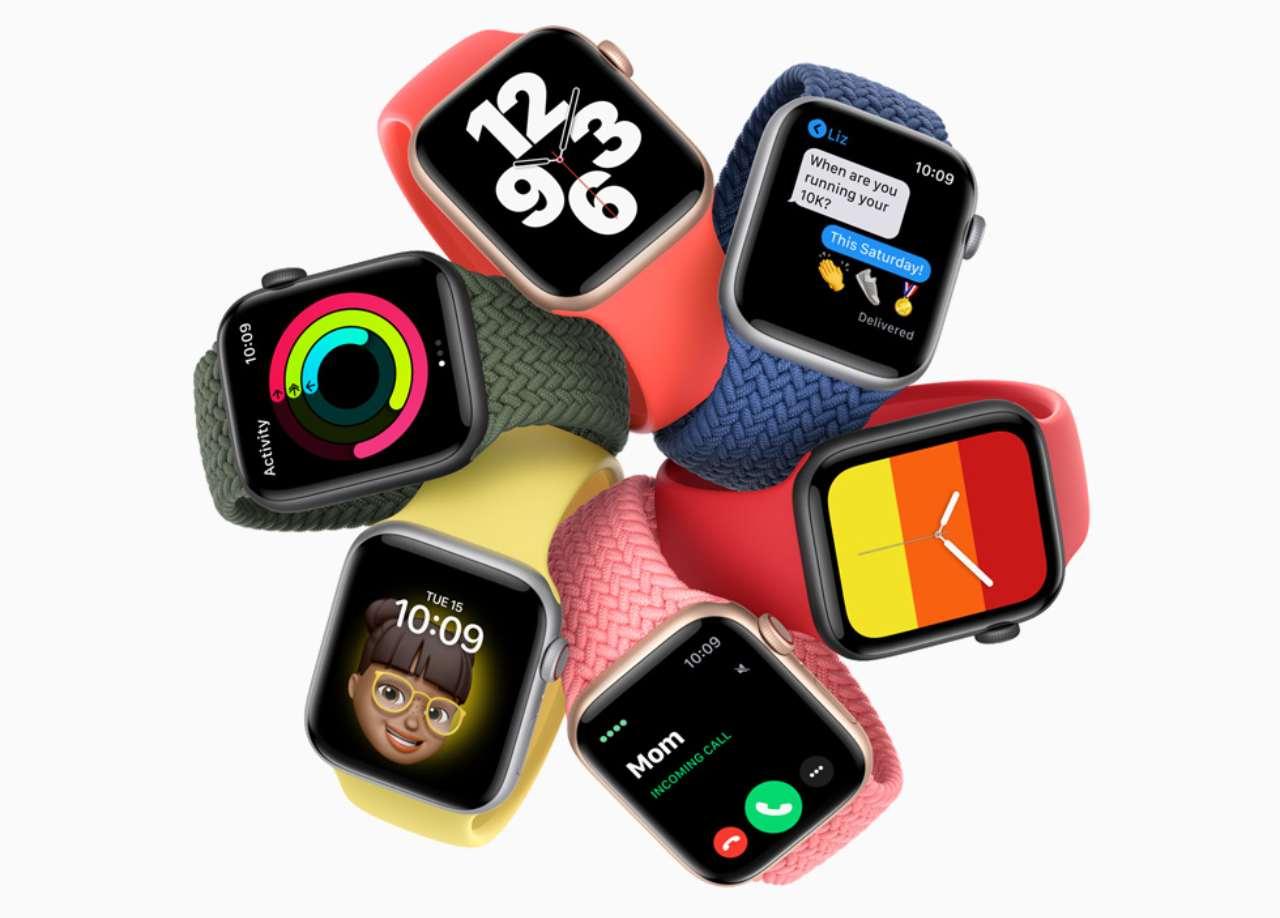 Apple Watch 7 con sensore di glicemia? (Foto Apple.com)
