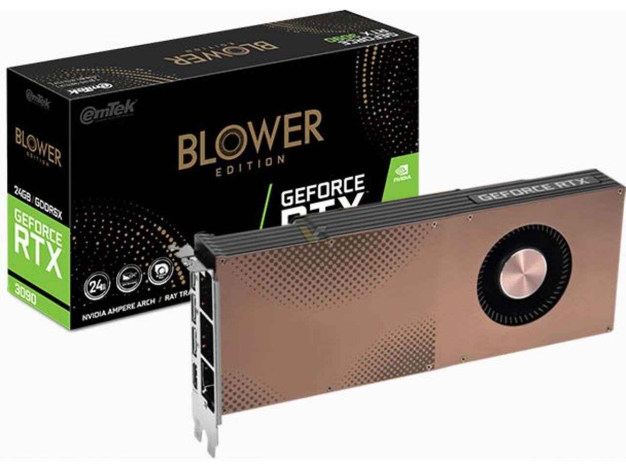GeForce RTX 3090 blower