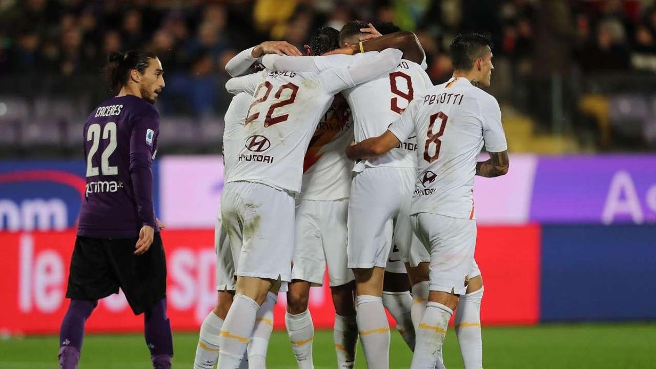 Fiorentina-Roma sul digitale terrestre (Foto Eurosport)
