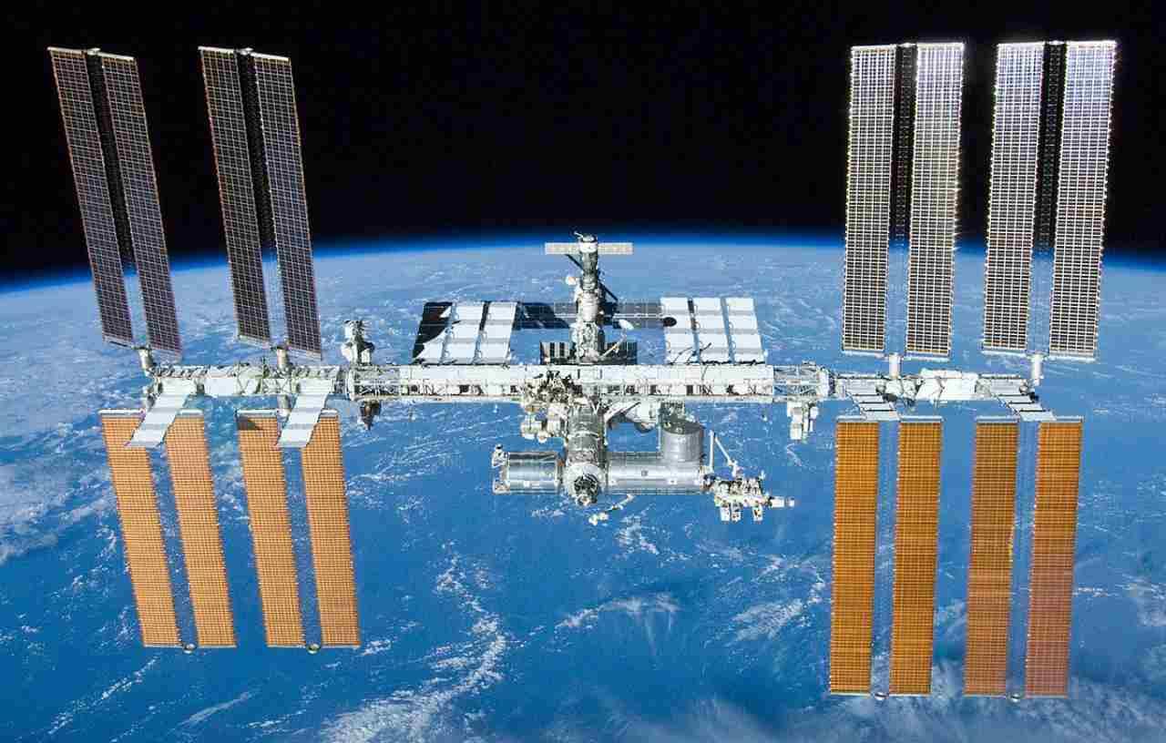 Batteri sull'ISS (Foto Wikipedia)