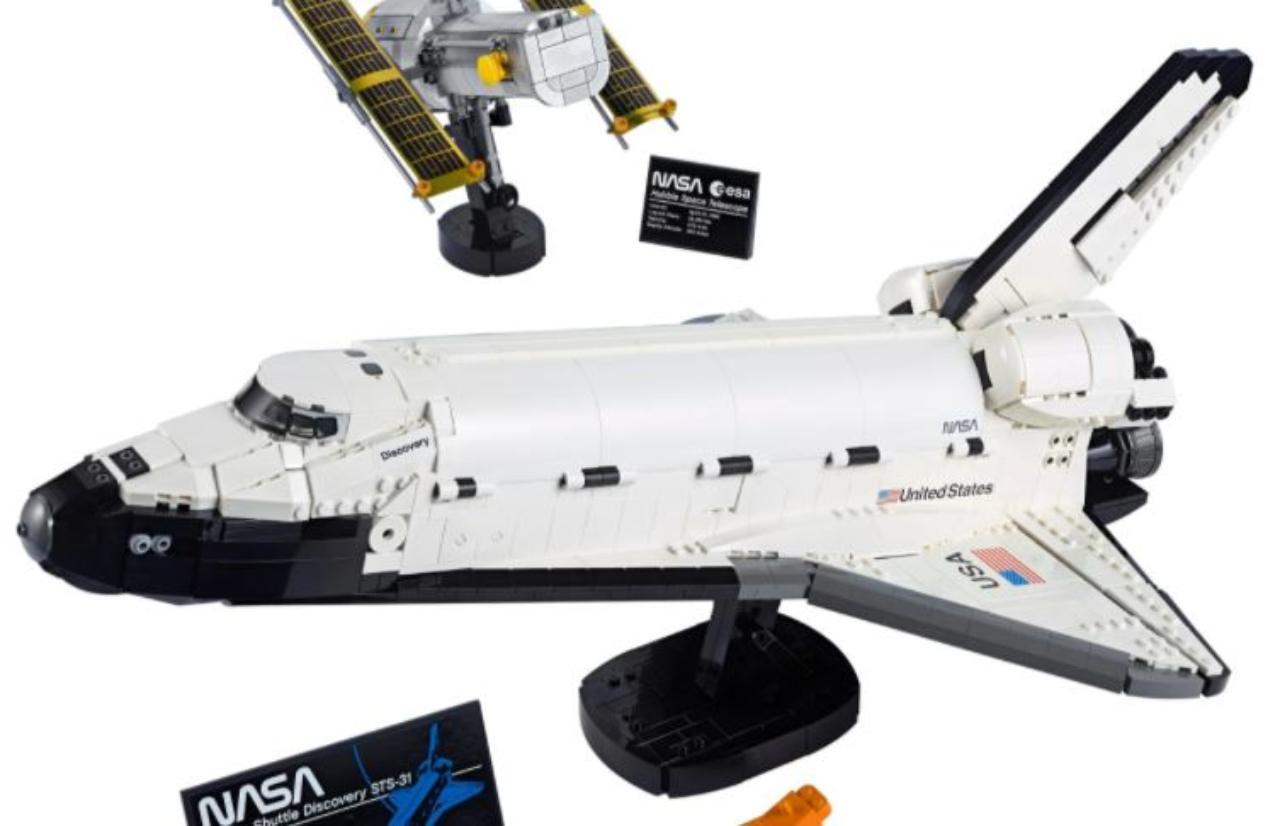 Lego Space Shuttle Nasa (Foto ufficiale)