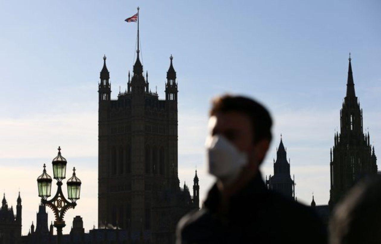 Londra, zero morti covid (Foto Huffington post)