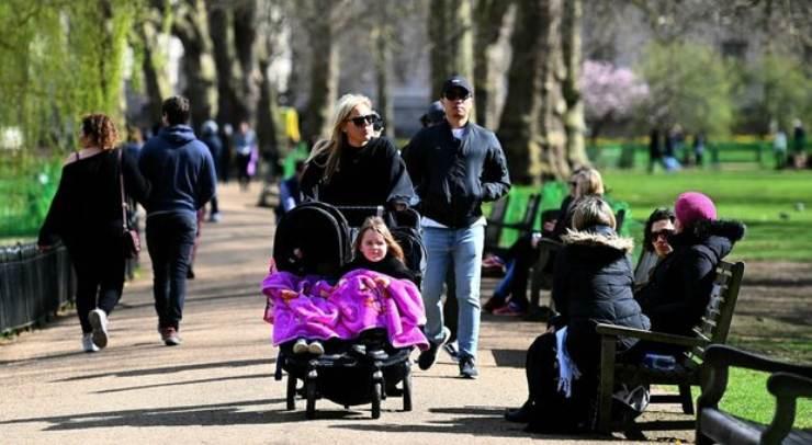 Zero morti covid a Londra (Foto IlMessaggero)