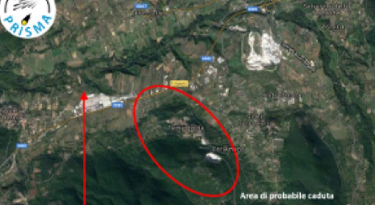 Meteorite Molise (Fonte IlMessaggero)
