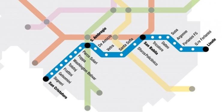 Le stazioni della M4 di Milano (Foto ufficiale)