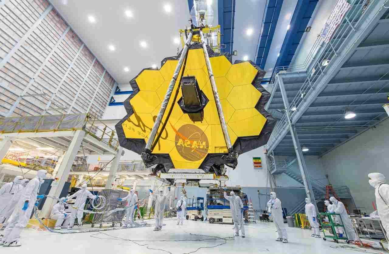 Il telescopio James Webb della Nasa (Foto Nasa.gov)