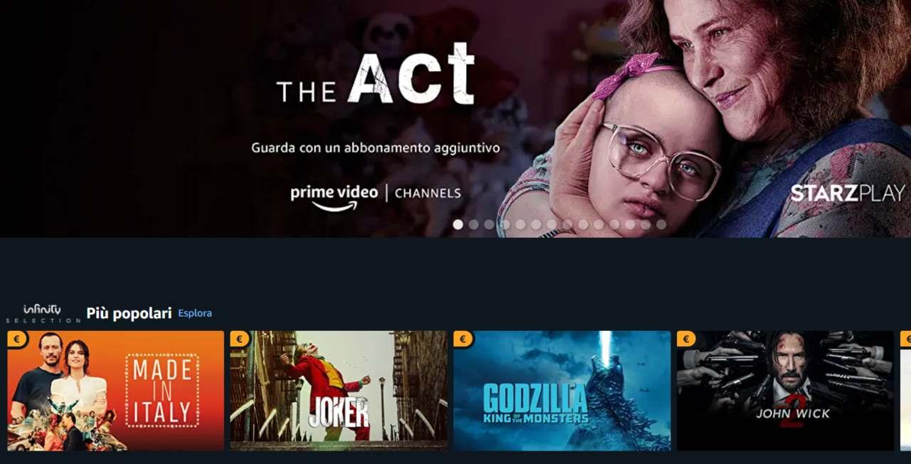 Amazon Fire Tv novità