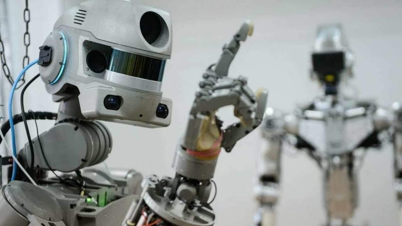 Robot che lavorerà nello spazio (Foto Astrospace)
