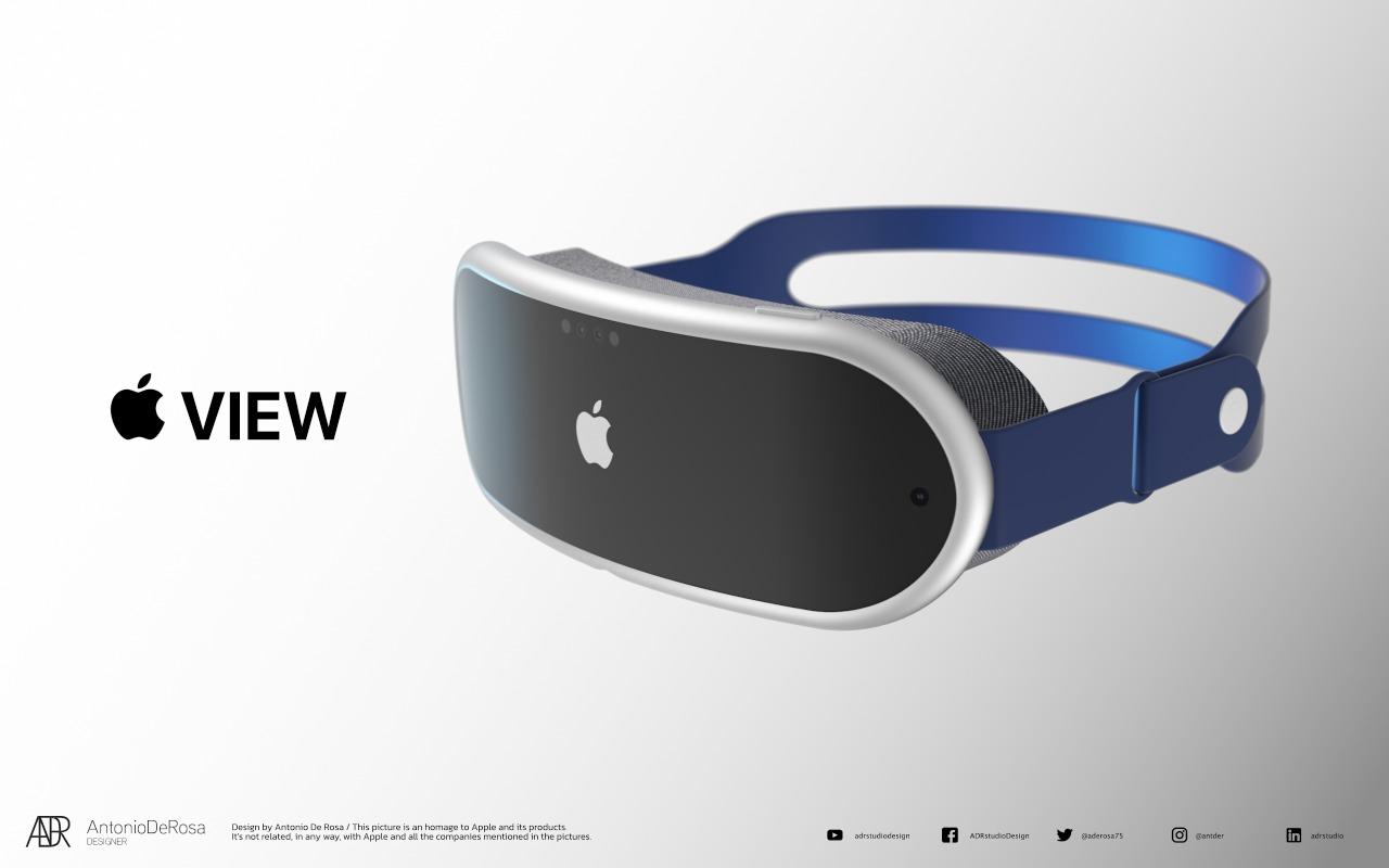 Visore Apple VR (Foto Macrumors)