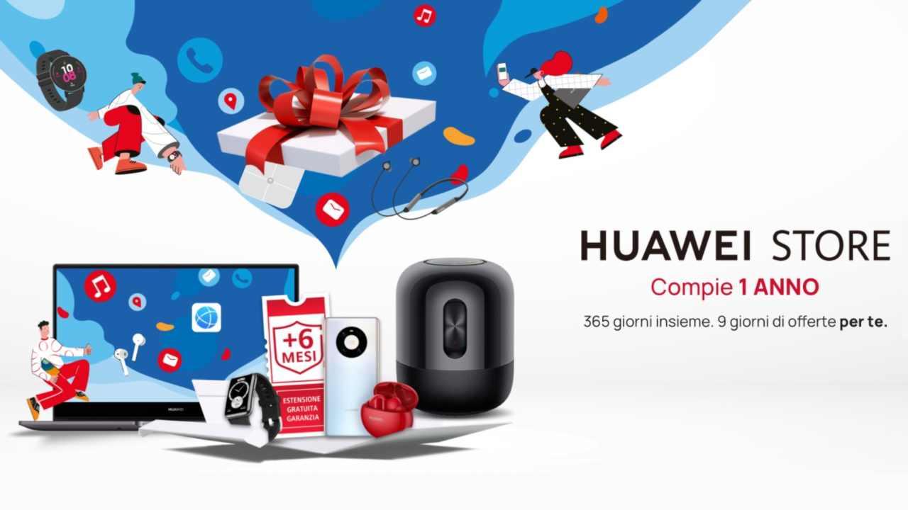 Buon compleanno |  HUAWEI Store! Festeggiamo con tantissime offerte