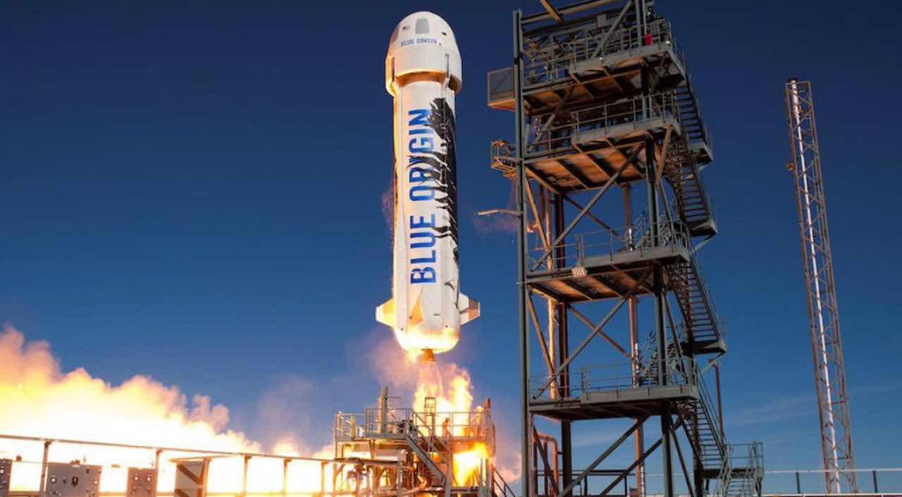 Blue Origin: parte la vendita