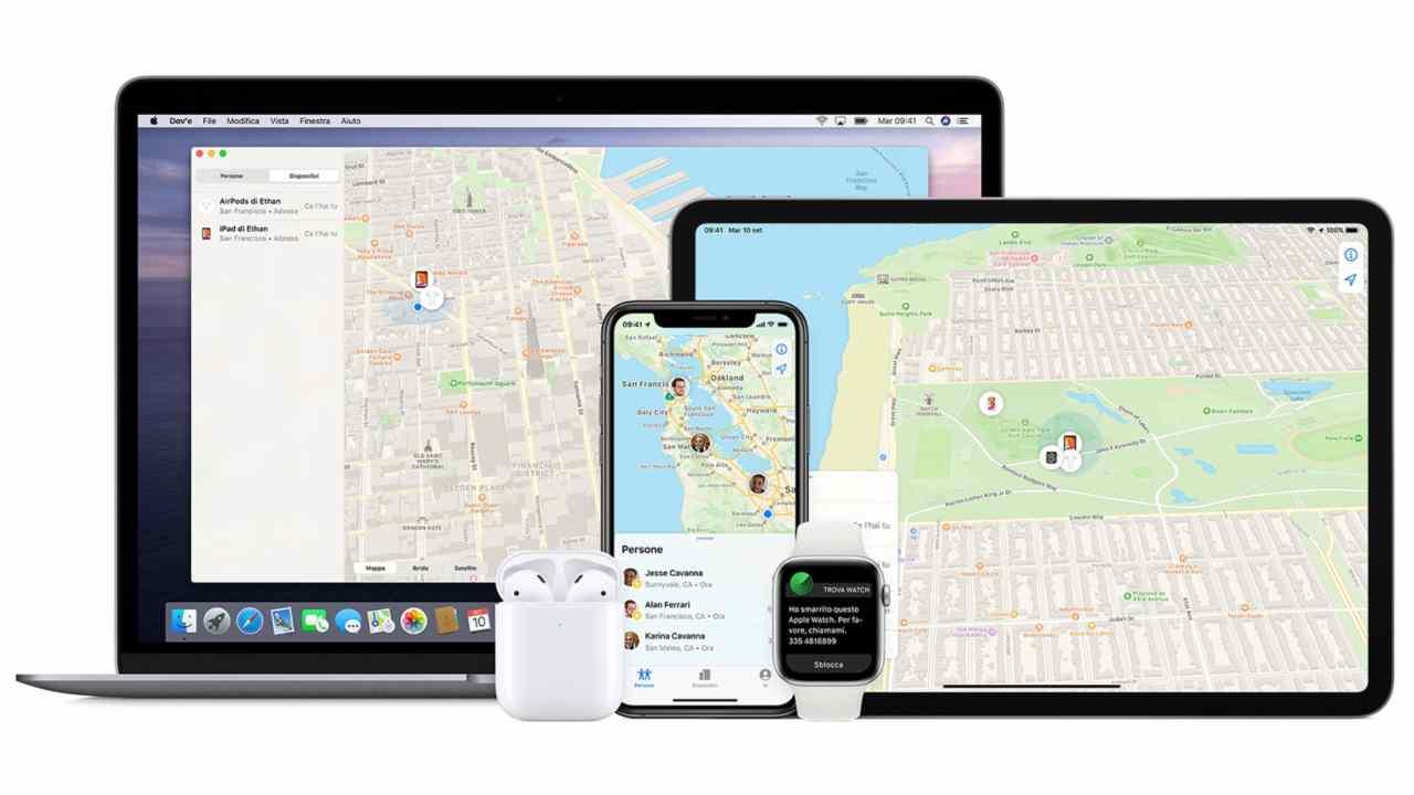 App per il tracciamento
