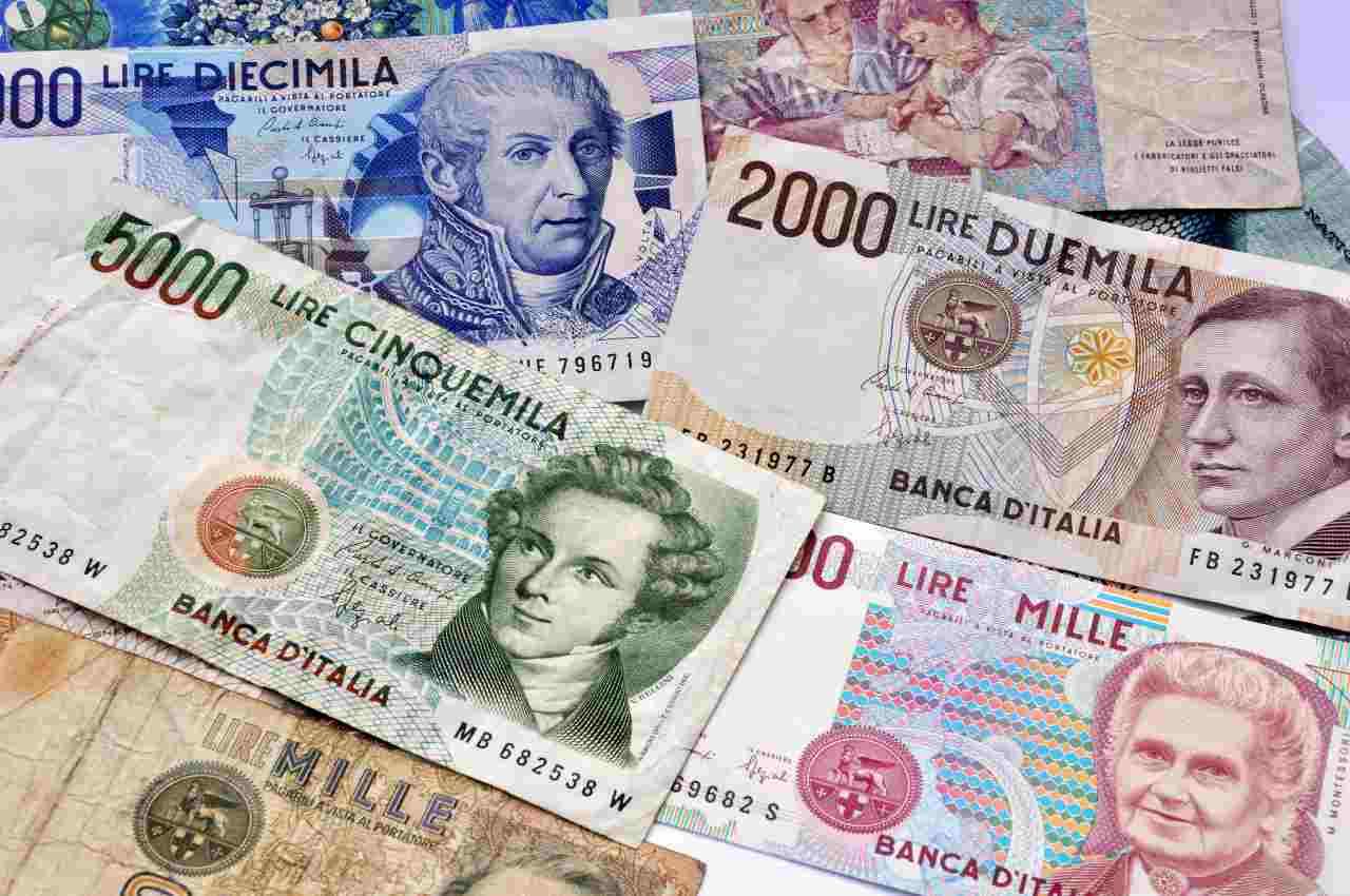Banconote in lire (Adobe Stock)