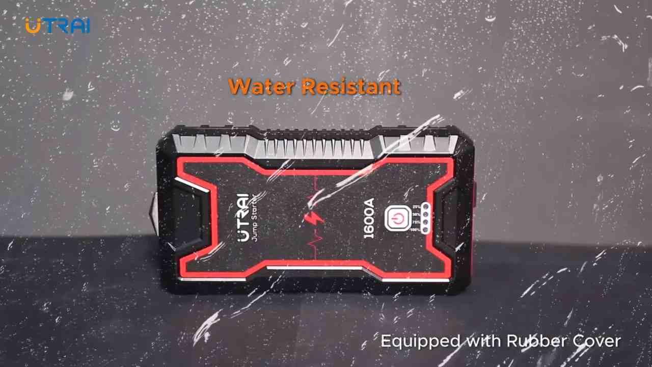 Resistenza ad acqua e polvere