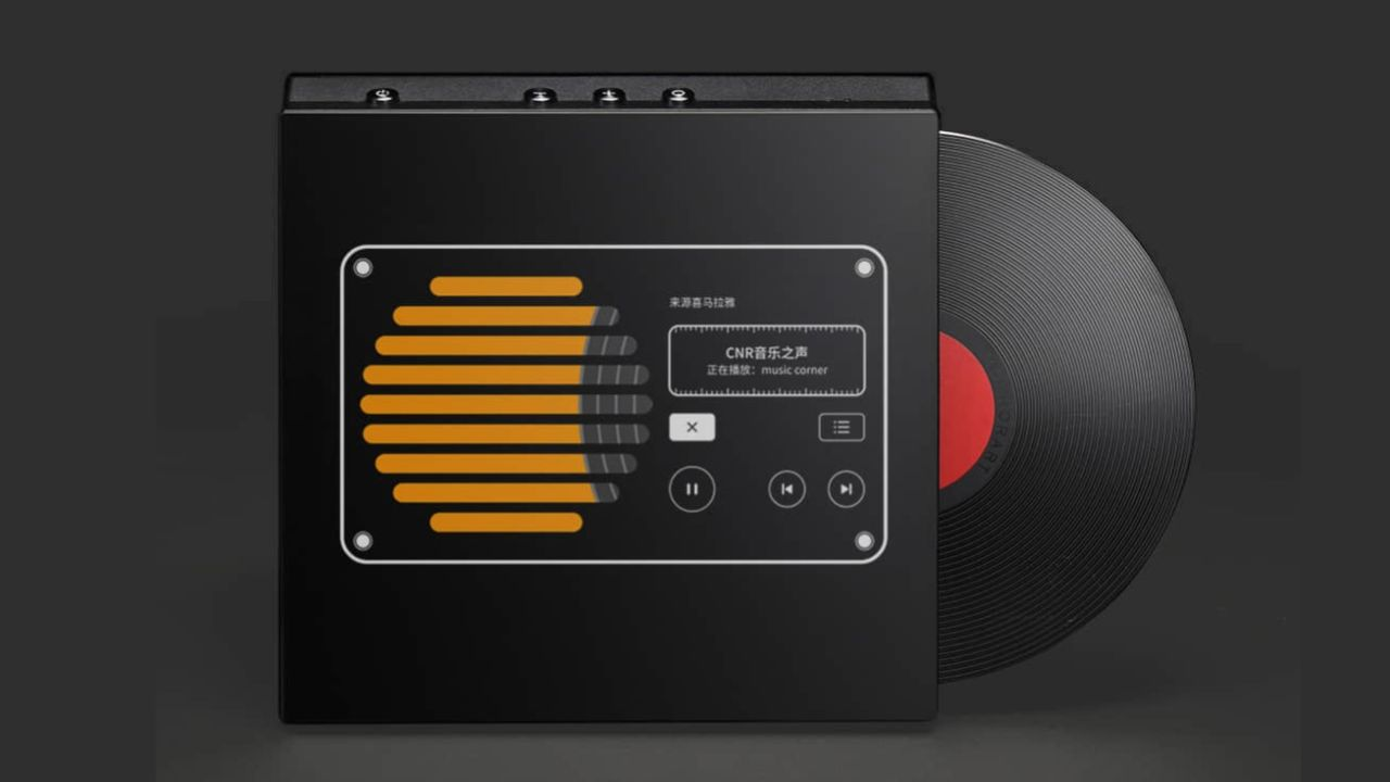 Display schermo speaker
