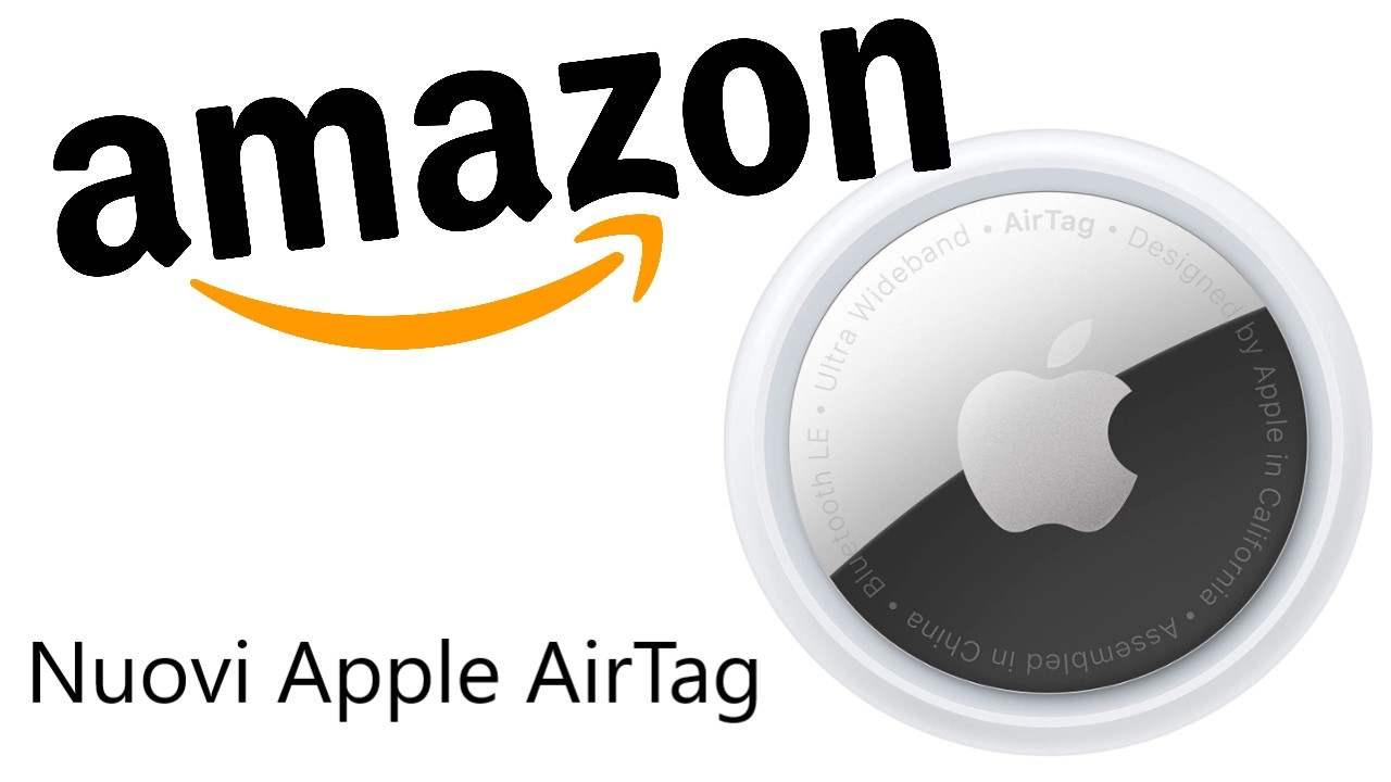 Nuovi Apple AirTag su Amazon