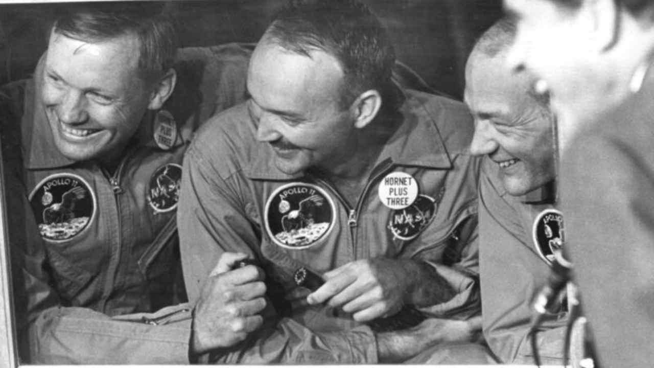 Armstrong, Collins e Aldrin