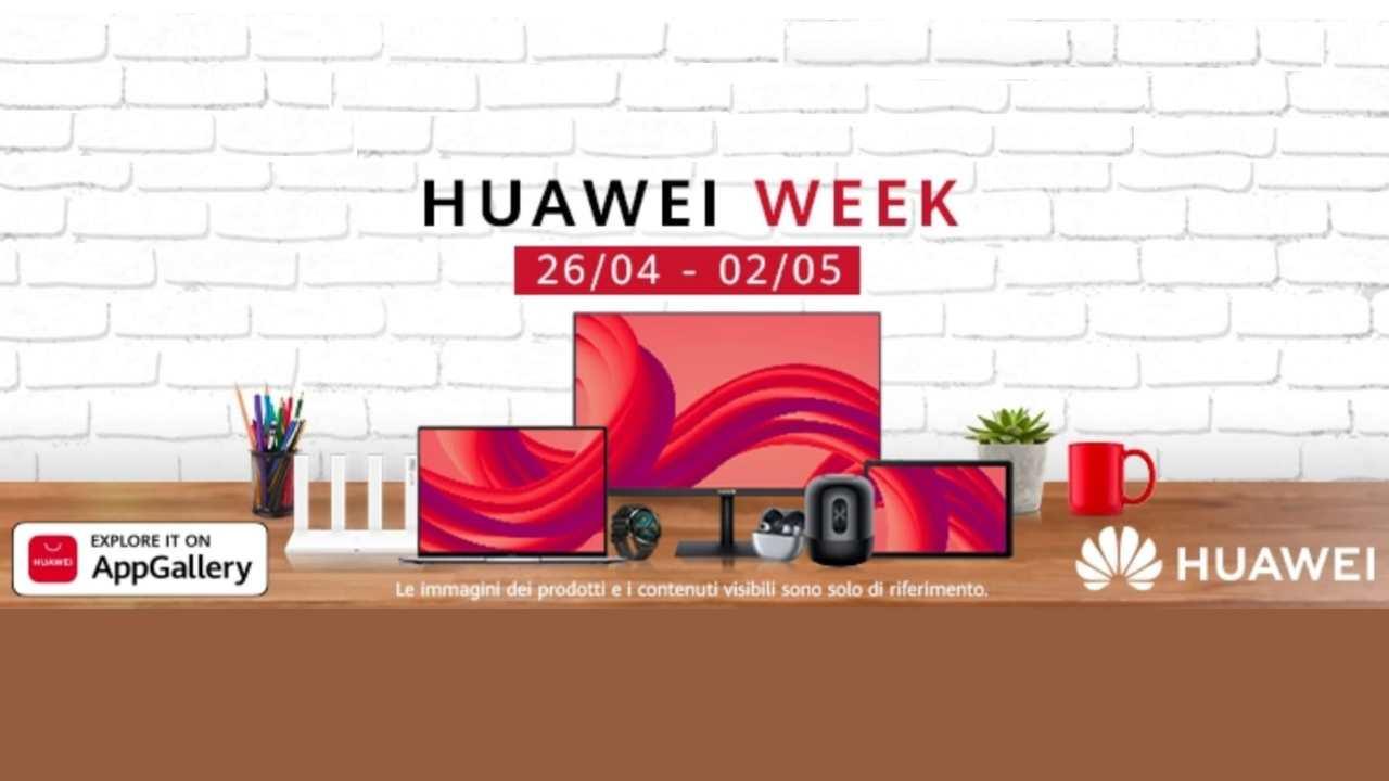 Settimana sconti Huawei