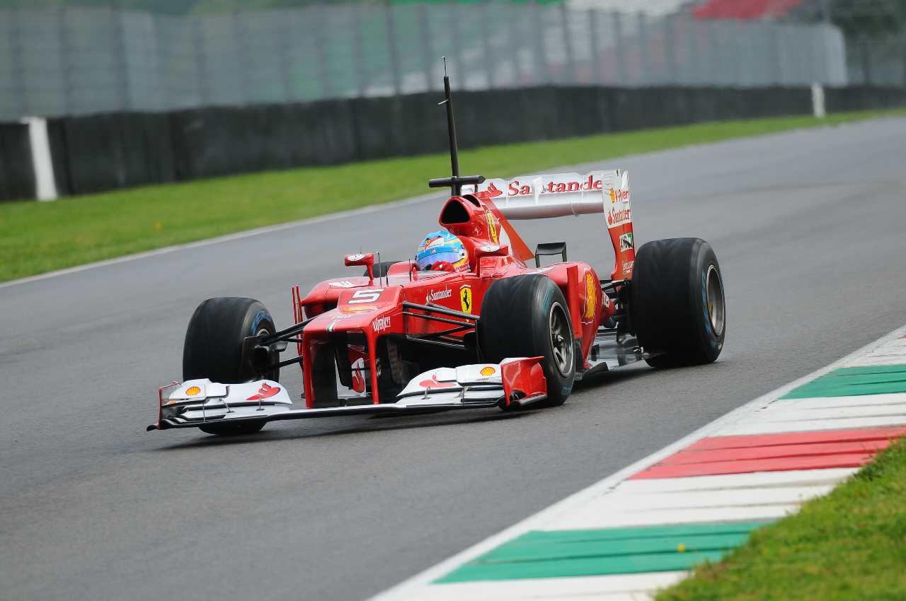 La Ferrari in pista (Adobe Stock)