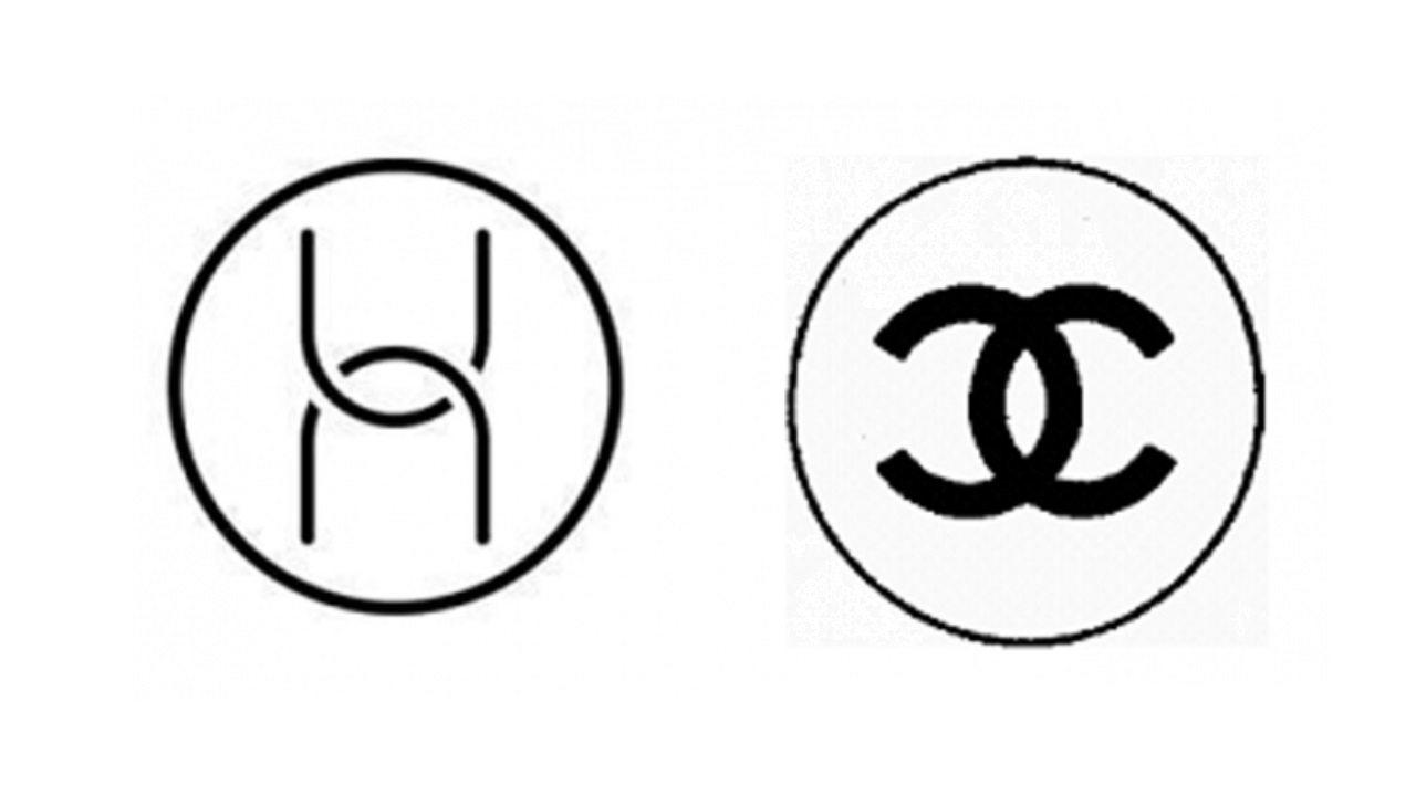 Loghi Huawei e Chanel